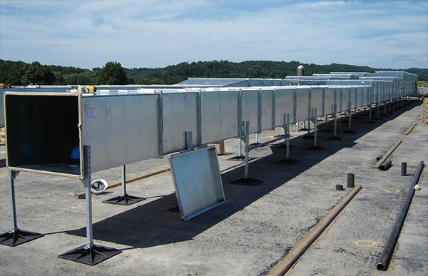 Rooftop Units Duct : Rooftop products mkt metal manufacturing