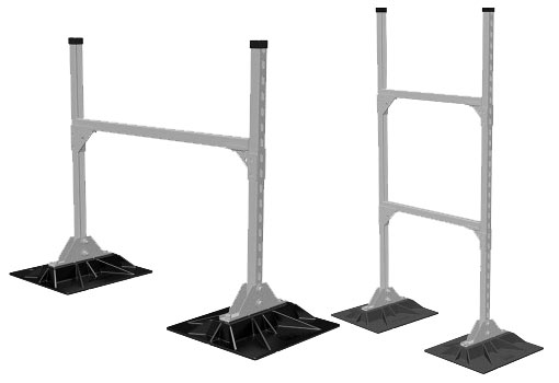 MIRO® Industries Rooftop Supports - MKT Metal Manufacturing