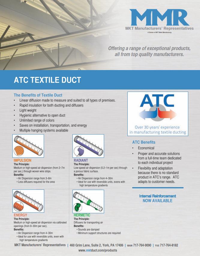ATC Textile Duct