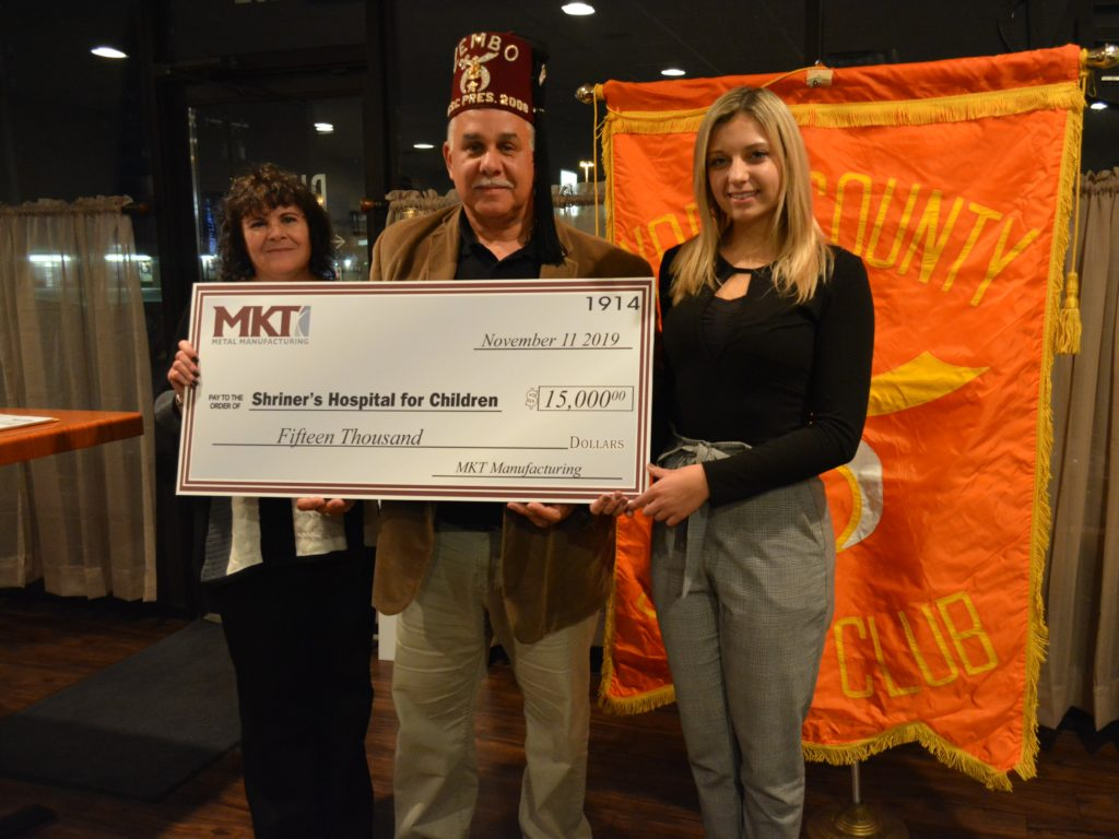 MKT Shriner Donation