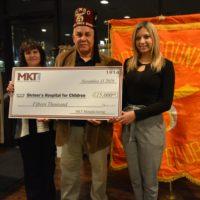 MKT Donates $15,000 to Shriners Hospitals – Philadelphia